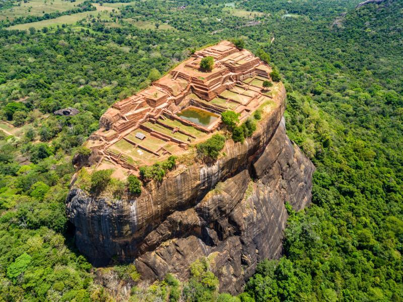 The Lion's Rock Fortress at Sigiriya