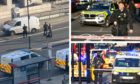 Armed officers on London Bridge.