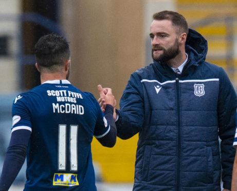James McPake and Declan McDaid.