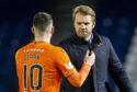 Robbie Neilson with Nicky Clark.