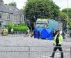 Mary Alan, 83, was crossing King Street in Aberdeen when she was hit.