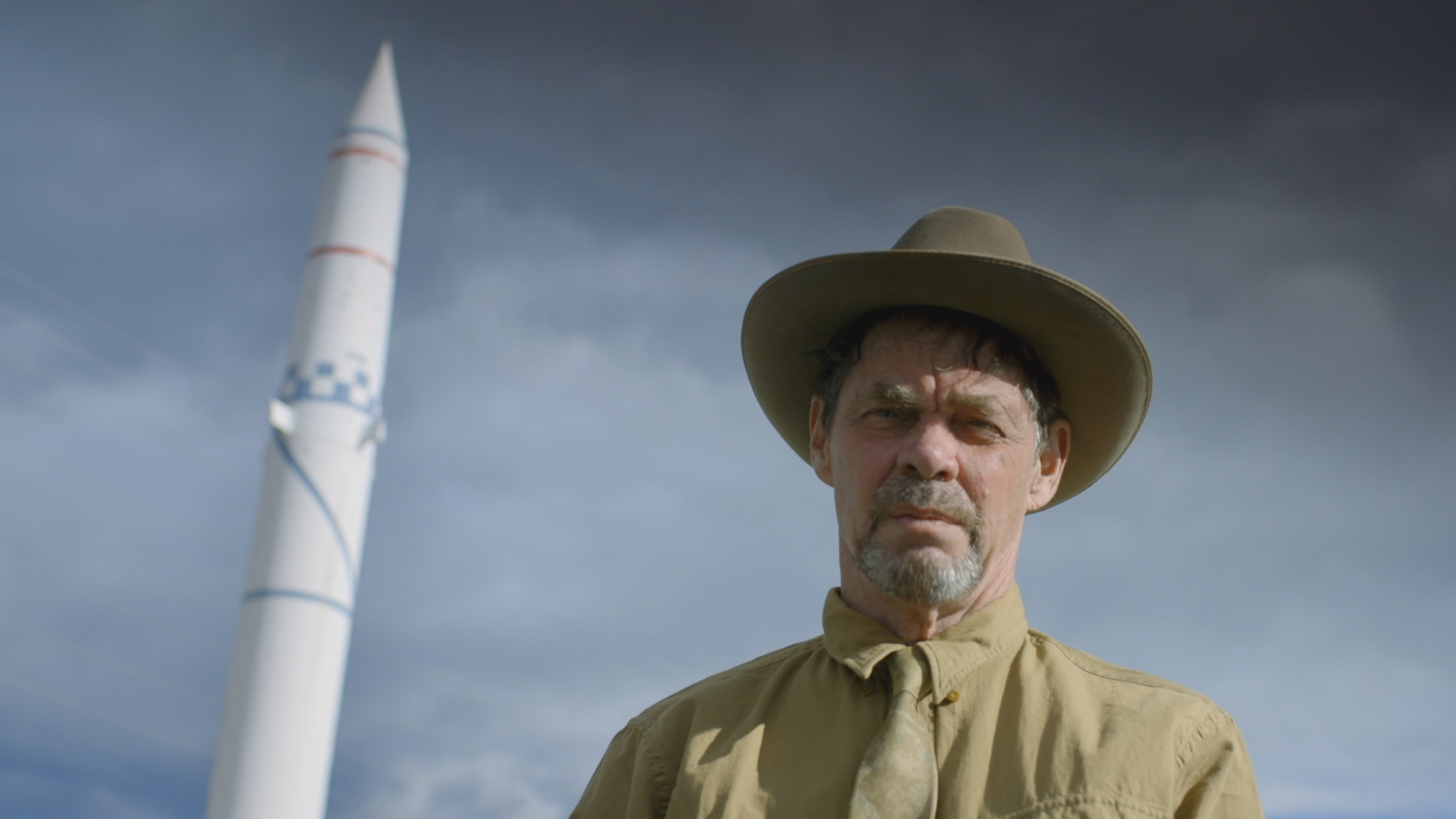 Rich Hall's Red Menace (copyright BBC).