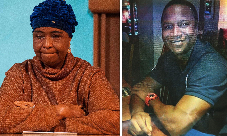Aminata Bayoh, left. Sheku, right.