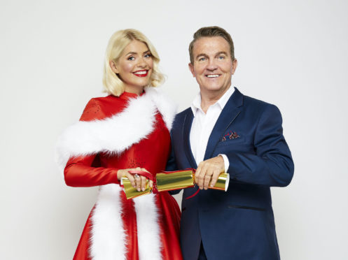 Holly Willoughby and Bradley Walsh.