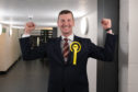 New SNP MP Dave Doogan.