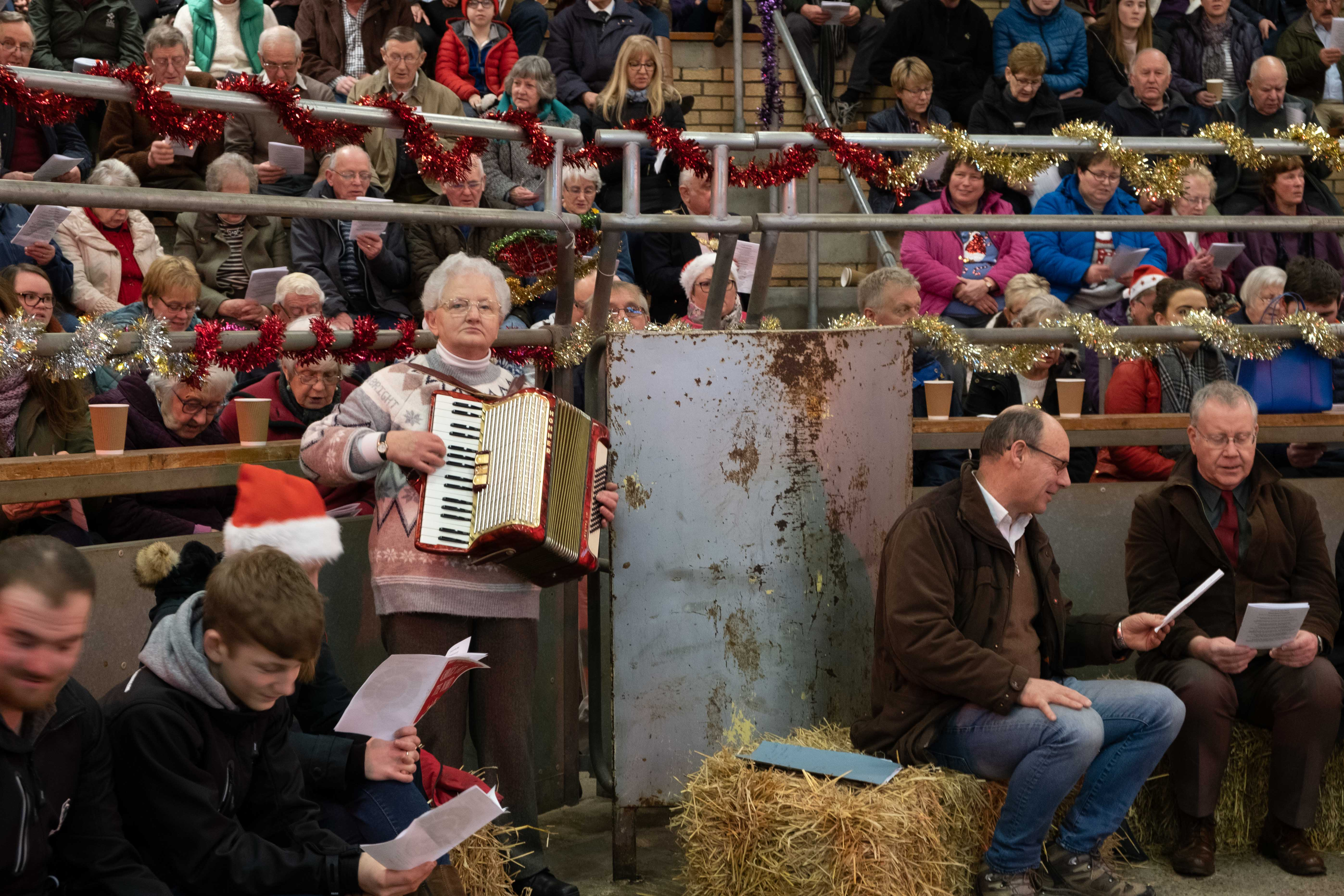 The event was free, but donations were made to Scotland's rural charity, RSABI.