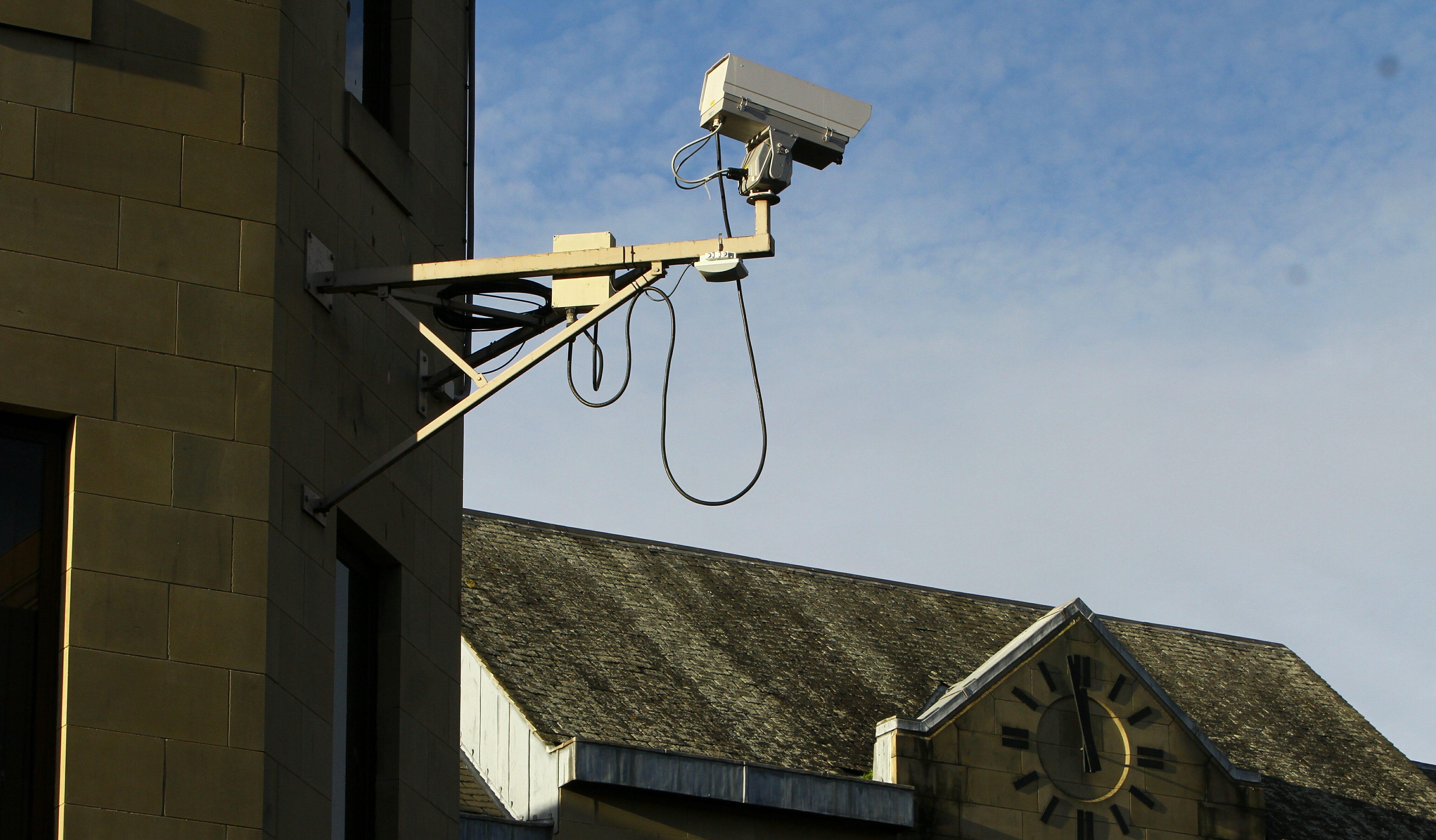 CCTV in Perth city centre