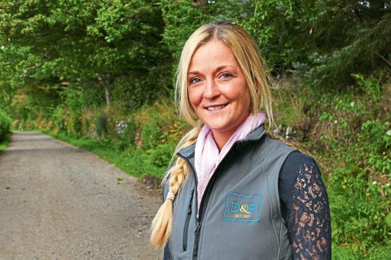 Hannah Matthew, rural surveyor and branch manager for Davidson & Robertson, Forfar.