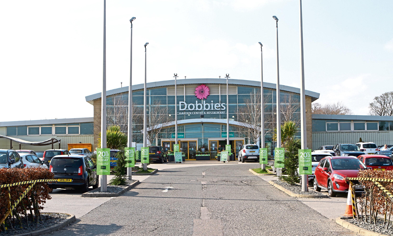 Dobbies Garden Centre in Angus.