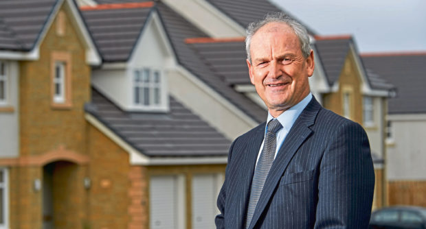 George Fraser, chief exec of Tulloch Homes George Fraser, Chief Exec of Tulloch Homes pictured at one of their Inverness developments.