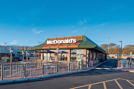 McDonalds in Arbroath has been upgraded thanks to the seven-figure business loan.