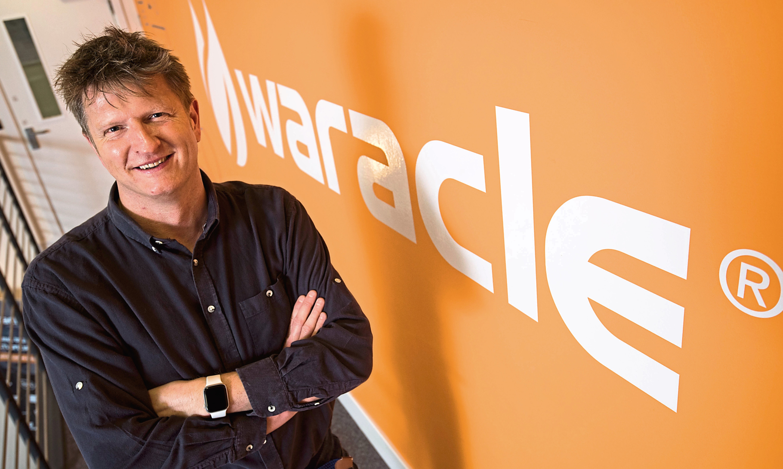 Chris Martin, chief executive of Waracle. Picture: Alan Richardson.