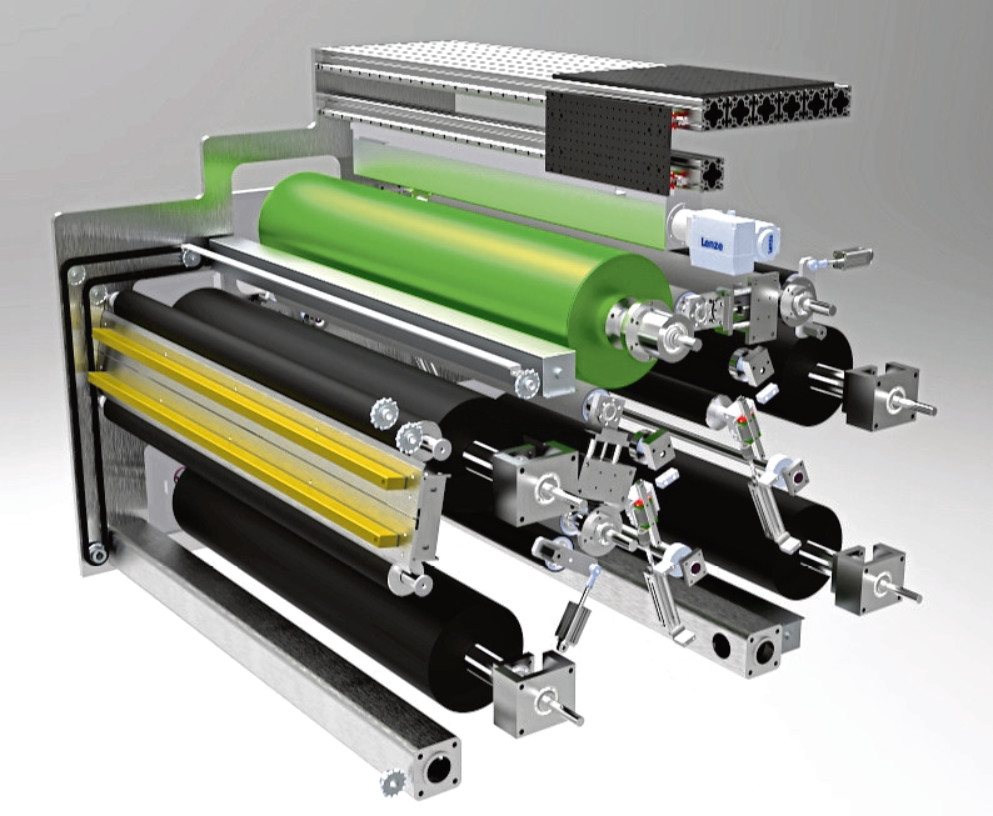 Ceres Holographics' film printing machine