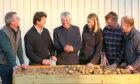 Greg Dawson of Scottish Agronomy, Colin Herron, Jim Reid, Claire Hodge of AHDB, Rob Scott of McCain, and Eric Anderson of Scottish Agronomy.