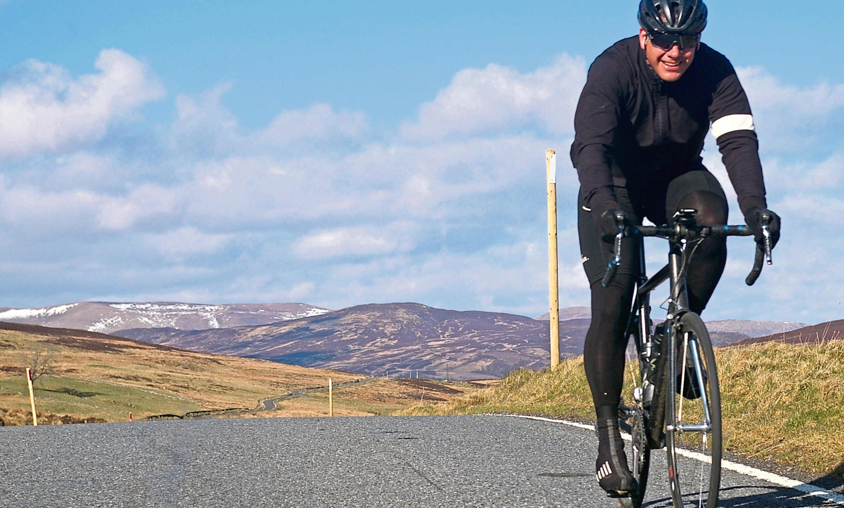 Cycling Pitlochry to Bridge of Cally