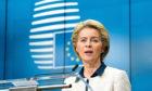 Ursula von der Leyen, president of the European Commission.