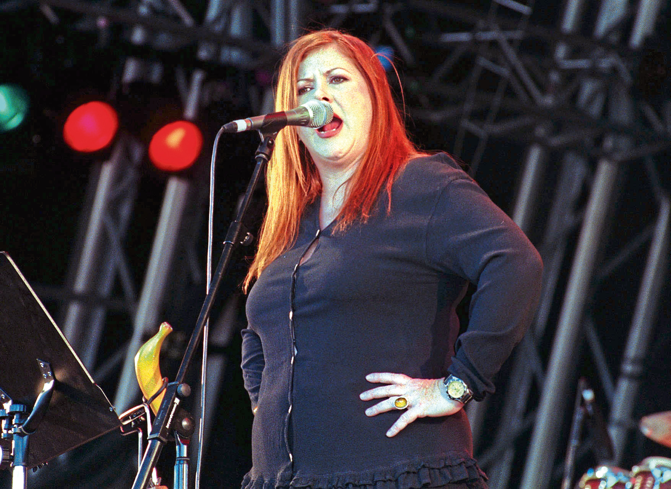 Kirsty MacColl who sang the offending line in Fairytale of New York.