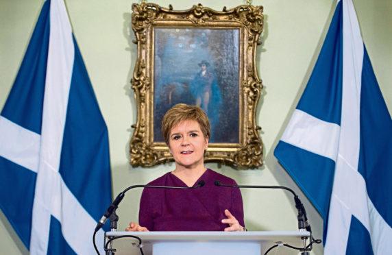 Nicola Sturgeon.