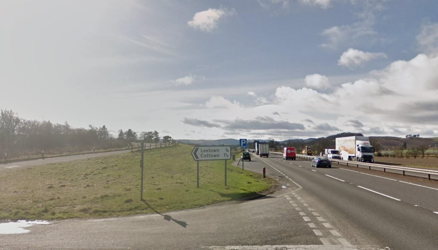 The A90 near Glendoick (stock image).