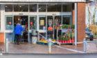 Police probe the break-in at ALdi, Glasgow Road, Perth