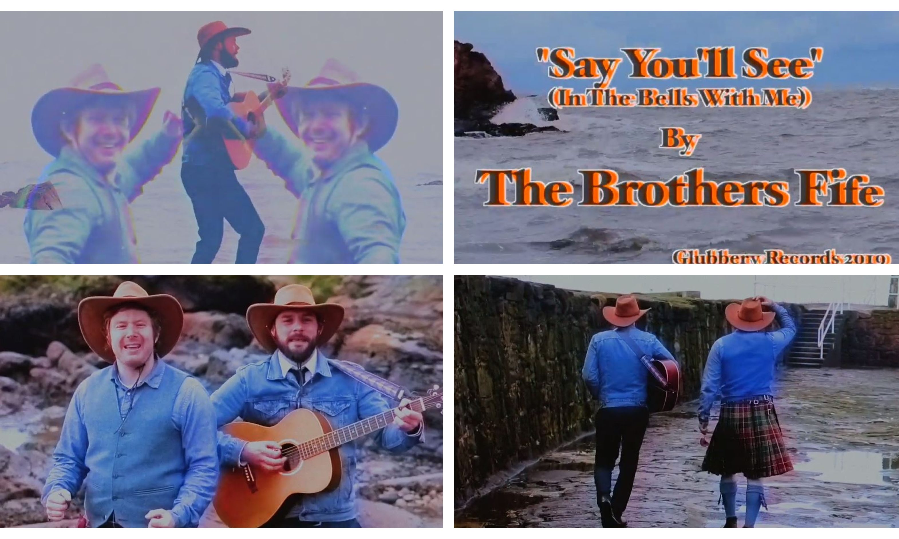 The Brothers Fife have returned with their fifth Christmas track.
