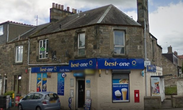 Best-One in Forth Avenue, Kirkcaldy (stock image).