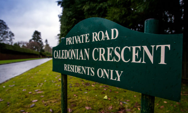 Caledonian Crescent in Perth has been dubbed Millionaire's Row