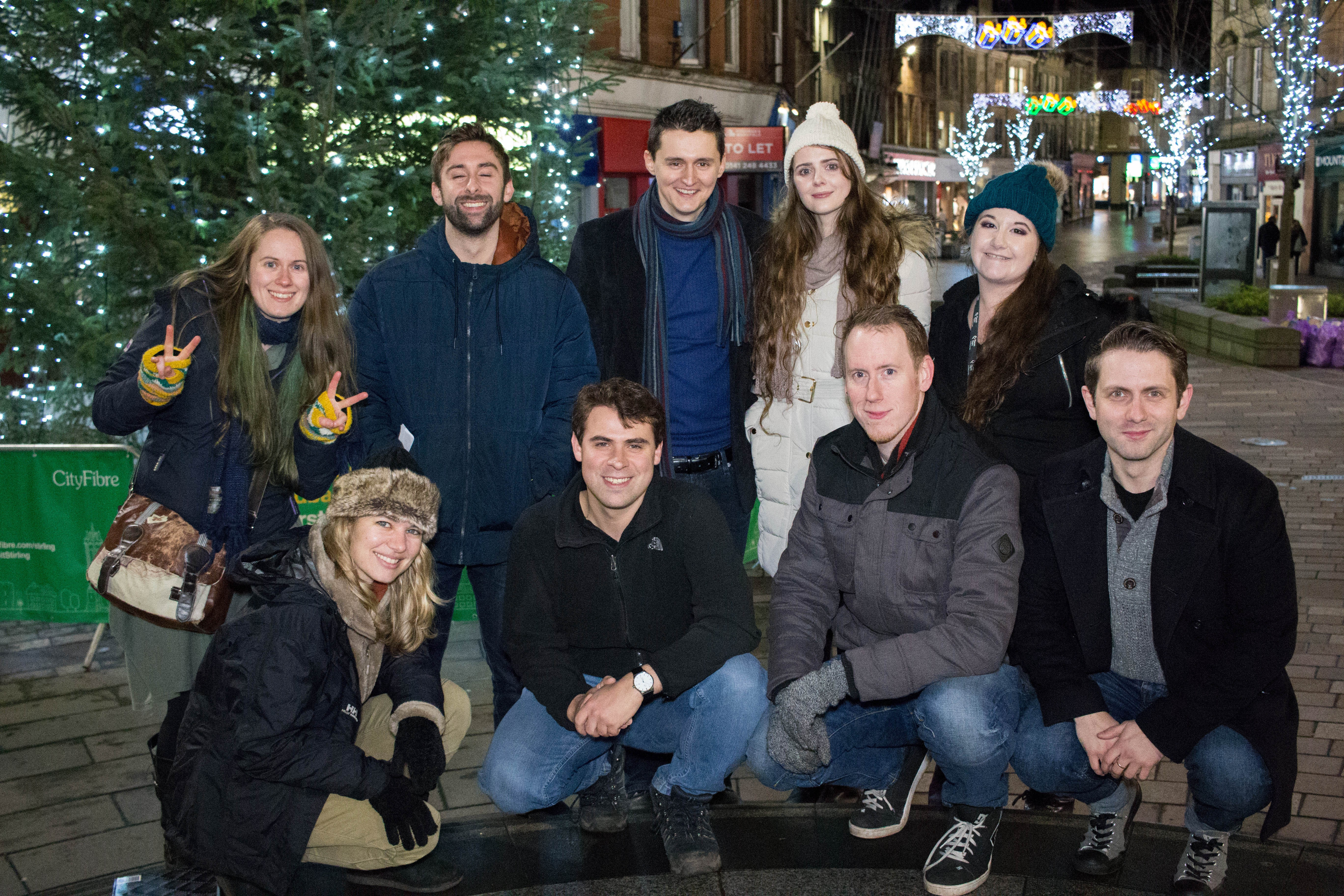 Above (clockwise from top left): Jessica Henderson, Joshua Gajree, Andrew Gourlay, Rowan Birkett, Emma Tully, Grant R Keelan, Simon Fox, Gavin Hugh, Savannah Morgan.