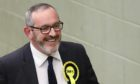 Stewart Hosie looking relaxed at the count.