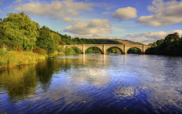 Dunkeld Bridge.