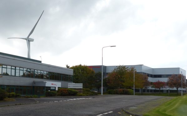 Pitreavie Business Park, Dunfermline (stock image).