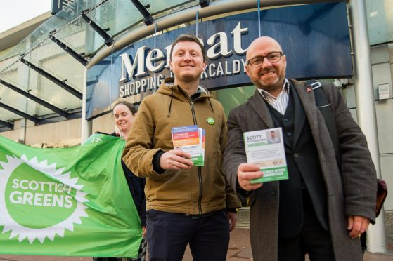 Patrick Harvie made the comments whilst on the campaign trail in Kirkcaldy with Green candidate Scott Rutherford.