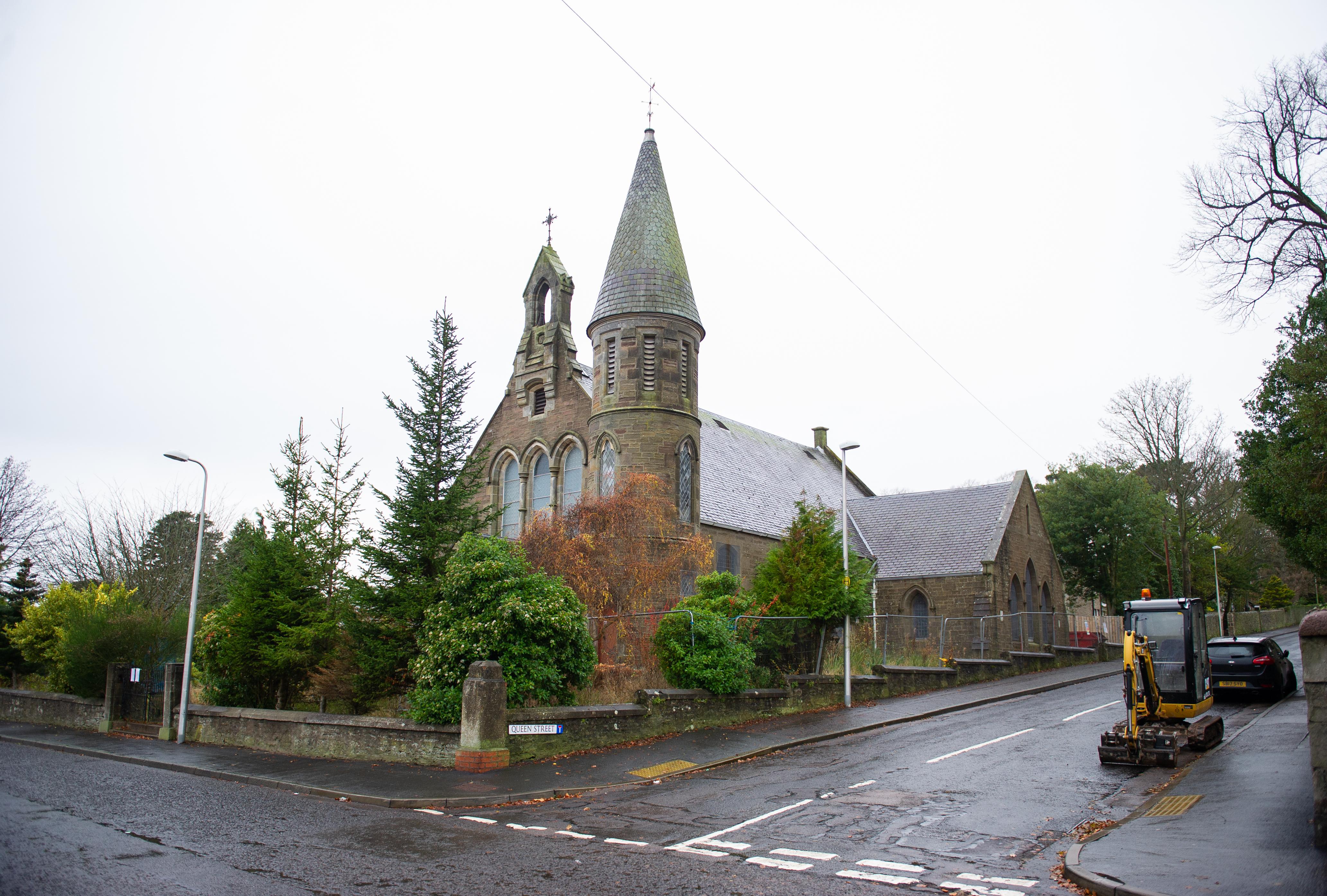 South Church, Monifeith.