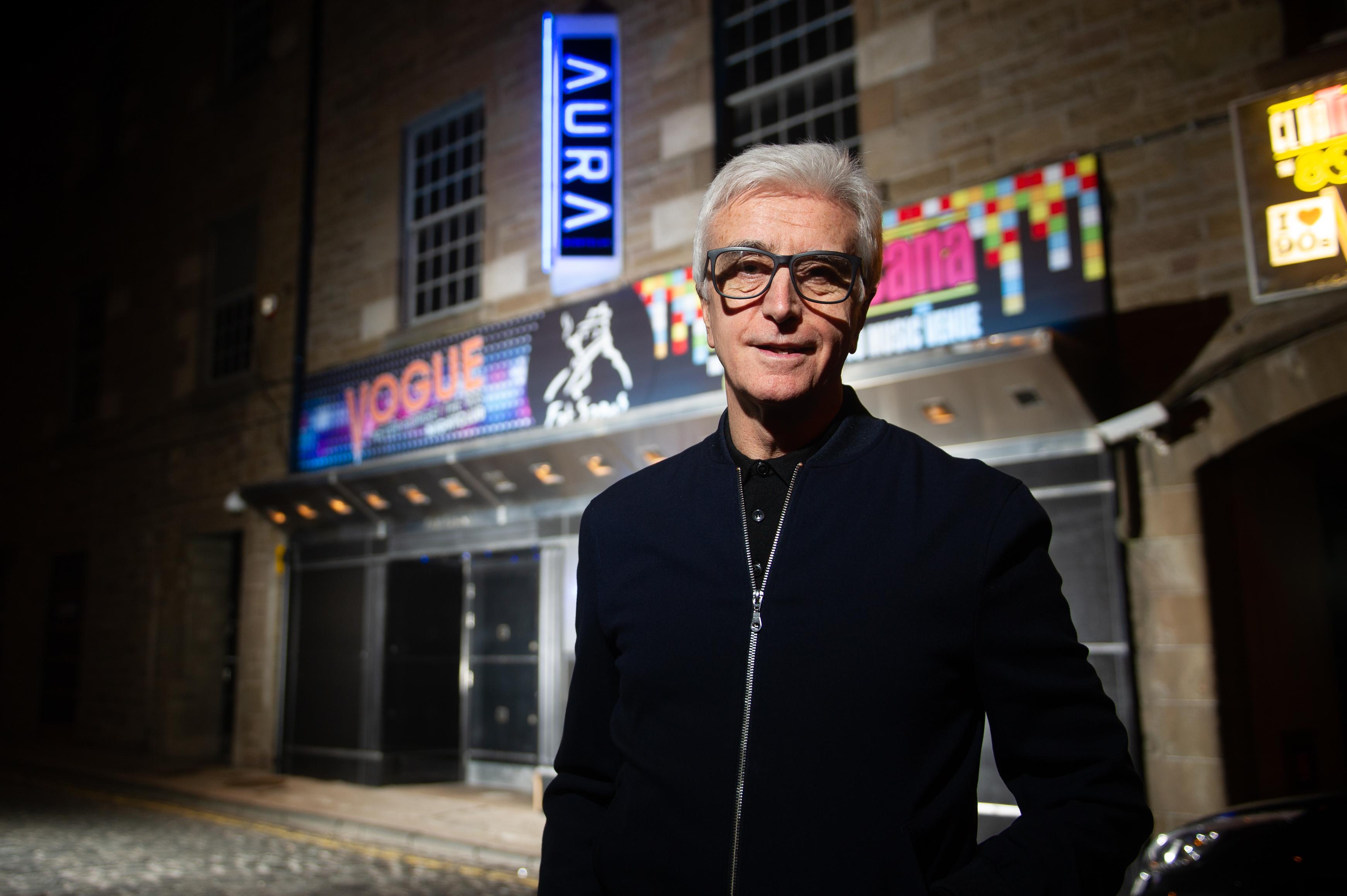 Dundee businessman Tony Cochrane