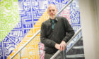 Prof Gregor White at the School of Design and Informatics at Abertay University.
