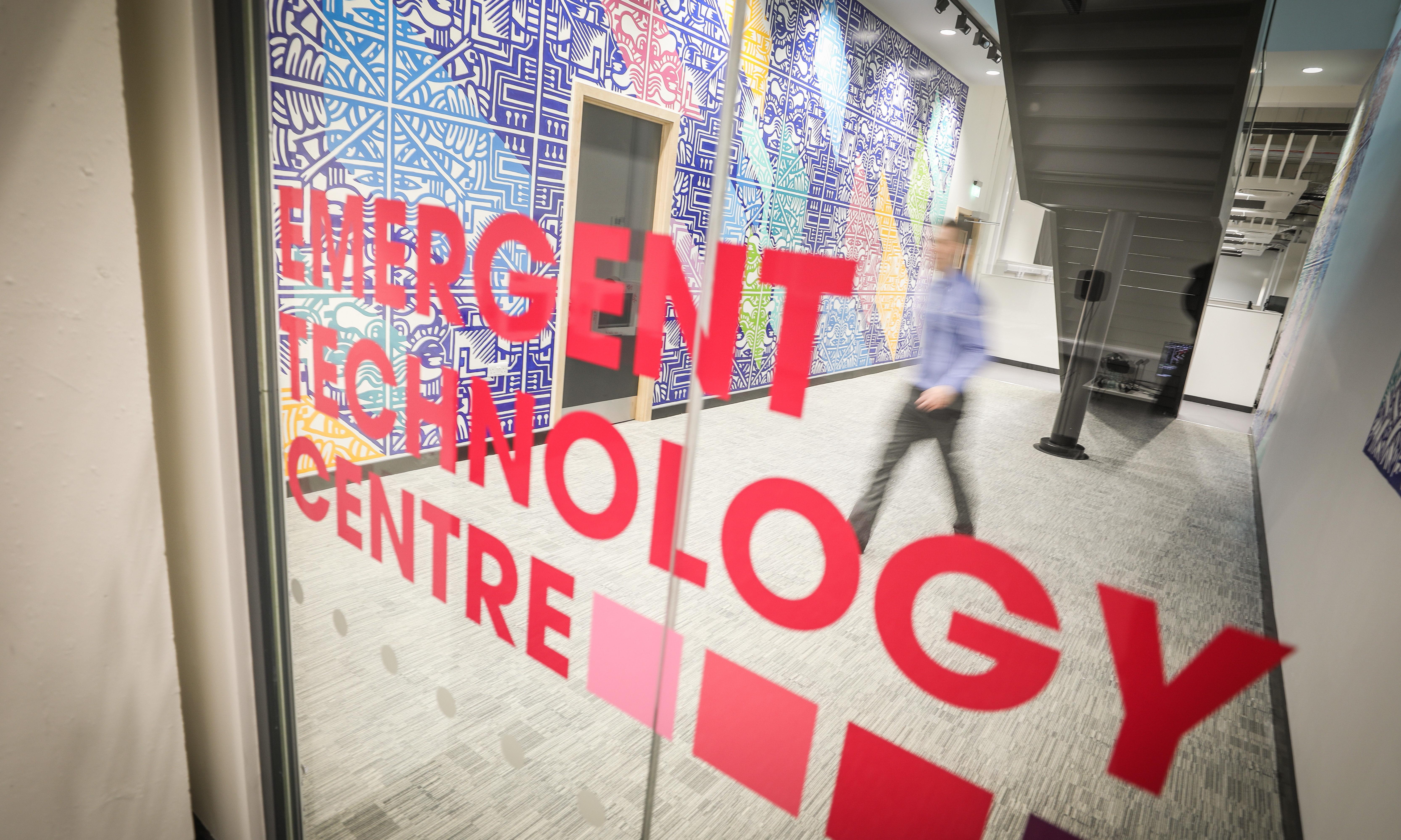Abertay's neew School of Design and Informatics.