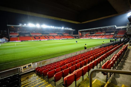 Tannadice will be hosting Premiership matches.