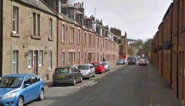 Leonard Street, Arbroath (stock image).
