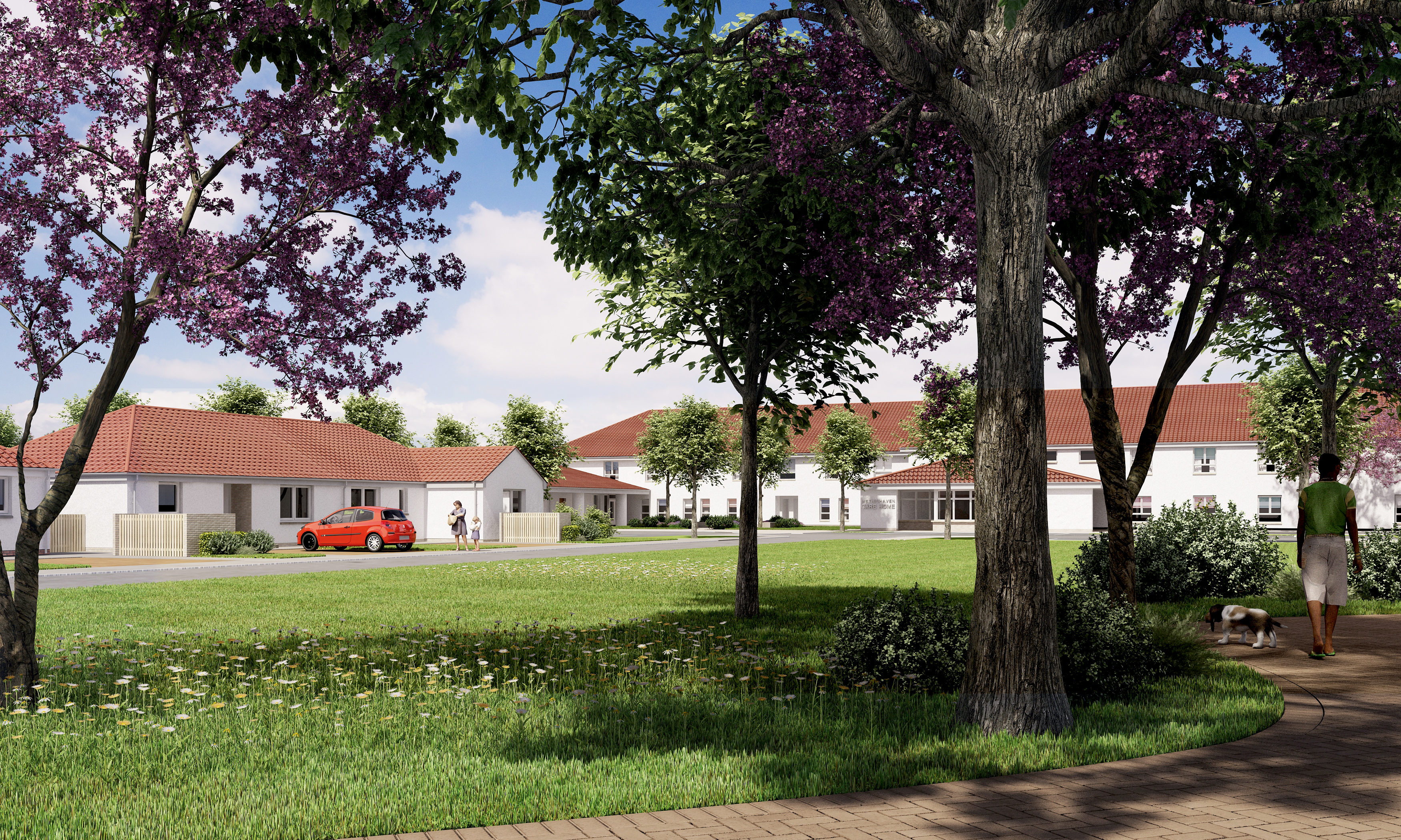 How the new care village in Methil will look.