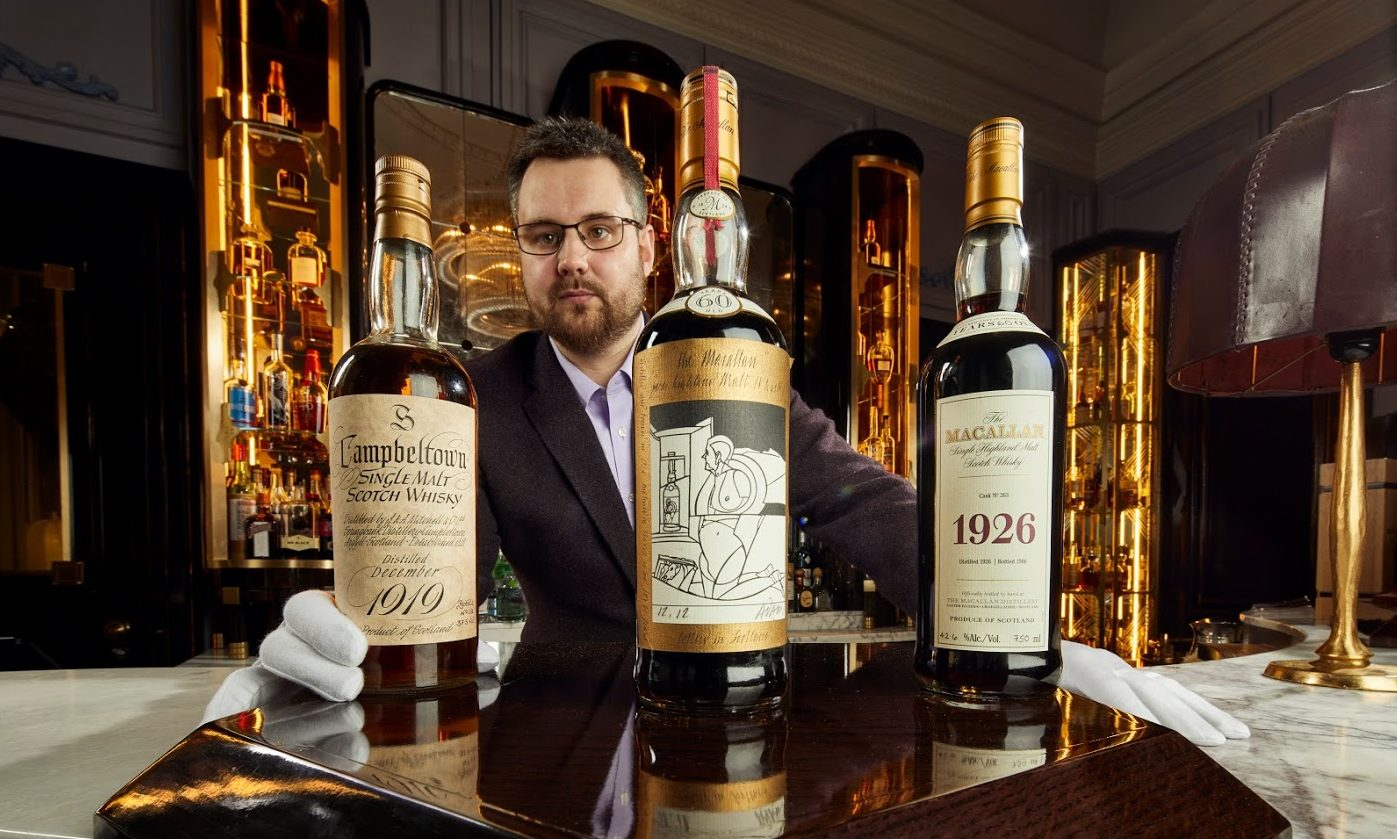 Iain McClune, Whisky Auctioneer founder, at Gleneagles