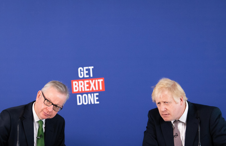 Michael Gove and Boris Johnson.