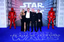 Ian McDiarmid and family attending the Star Wars: The Rise of Skywalker Premiere at Cineworld, Leicester Square, London.