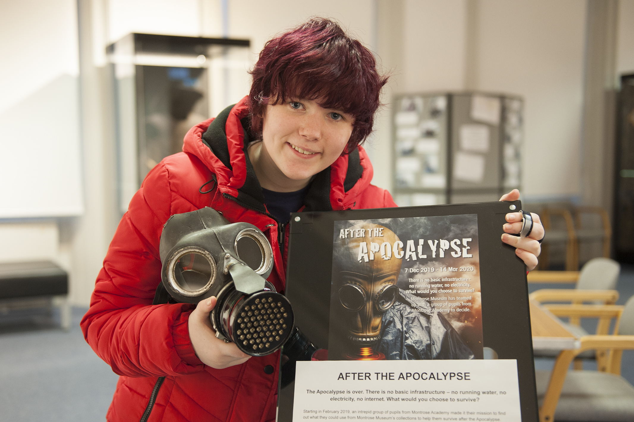 Bethan Robb took part in the After the Apocalypse project.