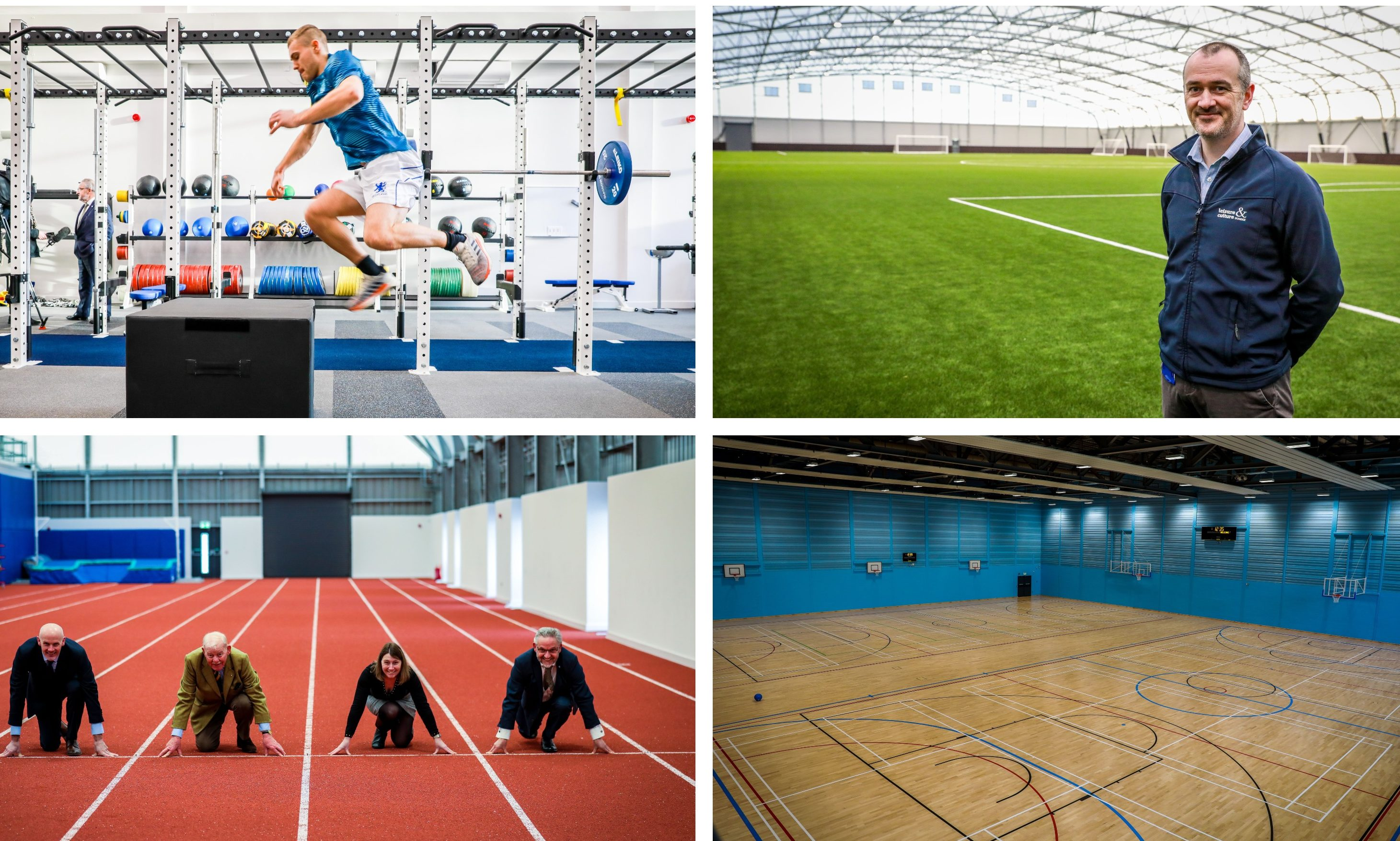 The new Dundee Regional Performance Centre.