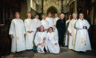 The Scottish Episcopal Church ceremony in Perth celebrating 25 years since the first women were ordained