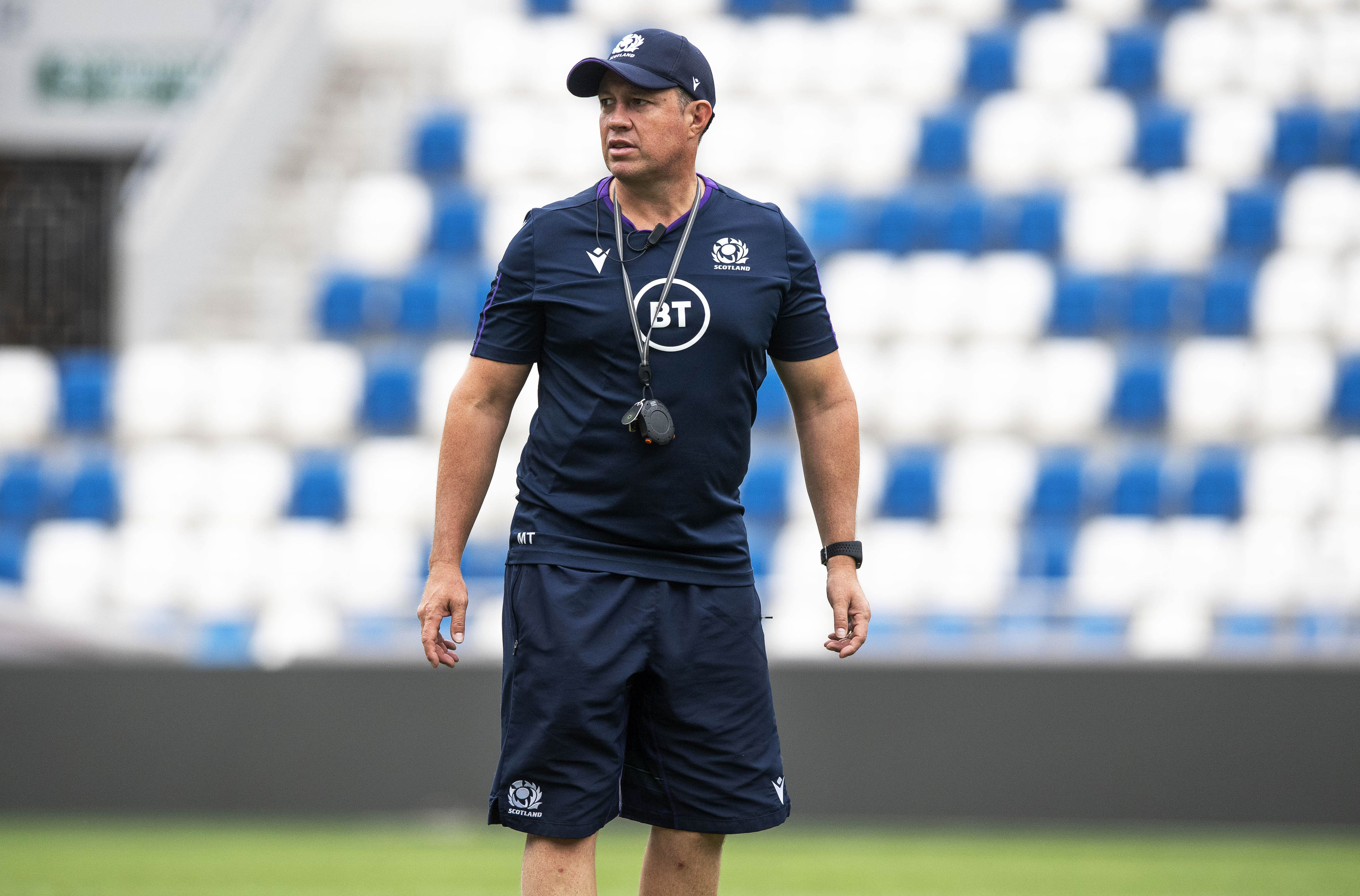 Matt Taylor was Scotland's defensive coach for seven years.
