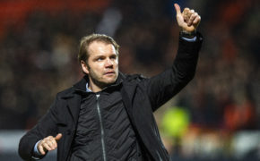 United boss Robbie Neilson can now plan for next season.