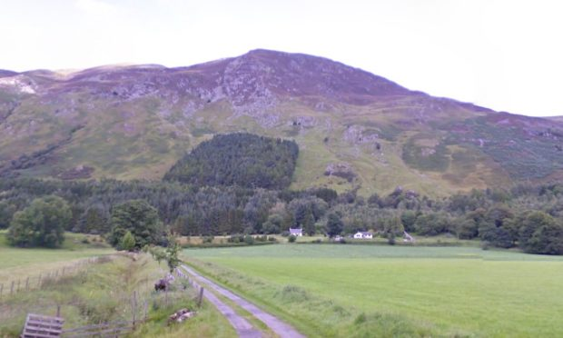 South Chesthill is a 7,000–acre estate, near Loch Tay.