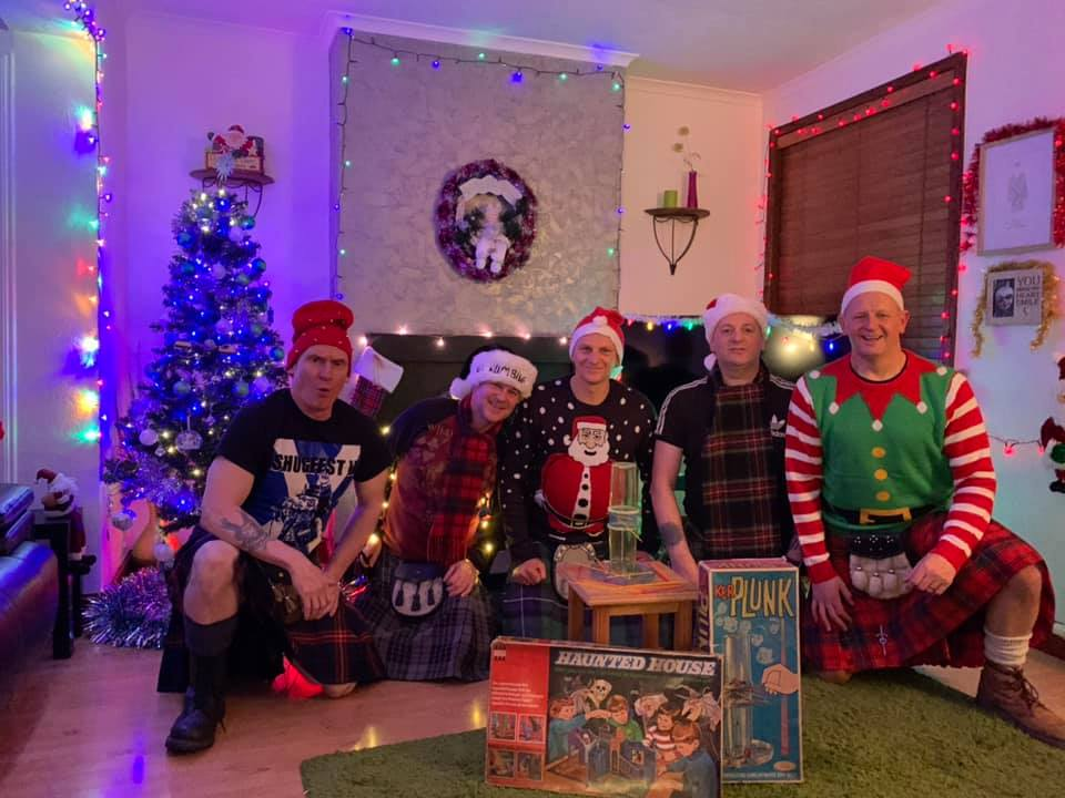The Cundeez filmed 'Christmas In The Scheme' in Dundee.