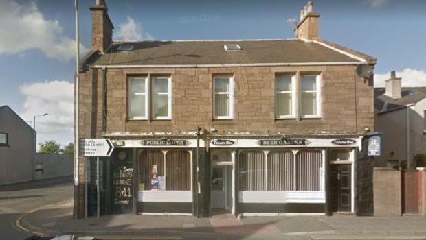 Thistle Bar, East Hight Street, Forfar (stock image).